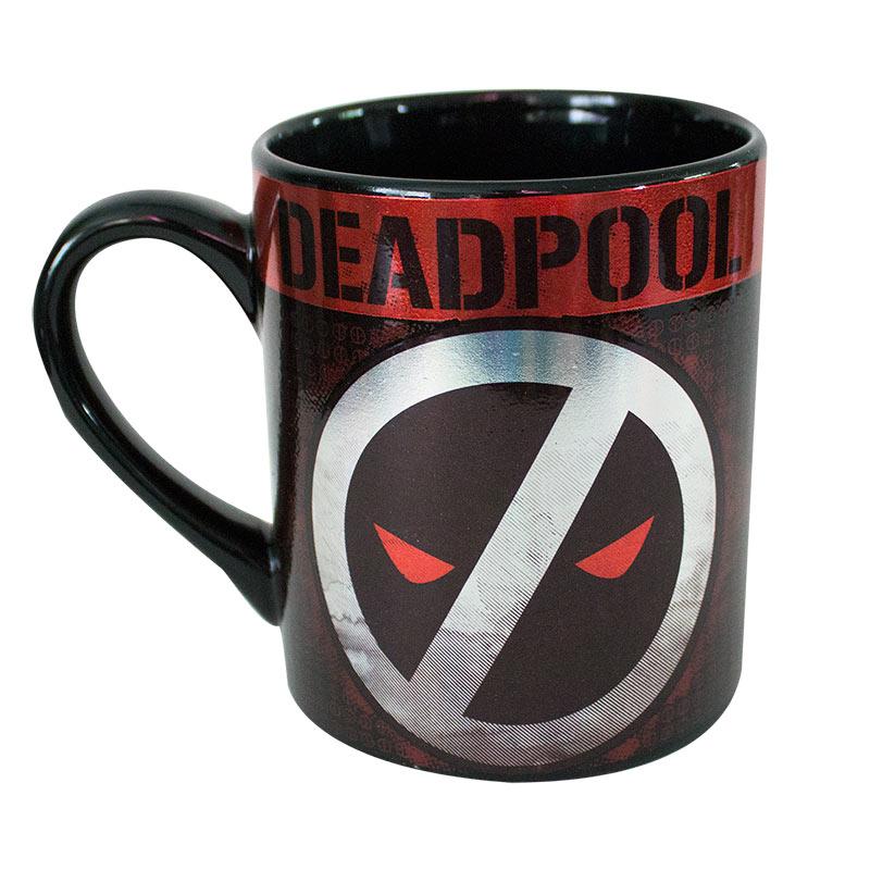 Deadpool Logo 14 Ounce Ceramic Mug