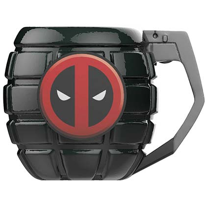 Deadpool Green Grenade Mug