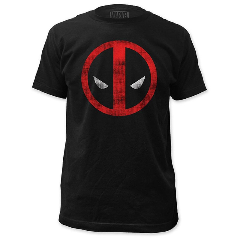 1b5b390a3c1 Deadpool Movie Logo Men s T-Shirt