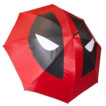 Deadpool Comic Katana Style Umbrella