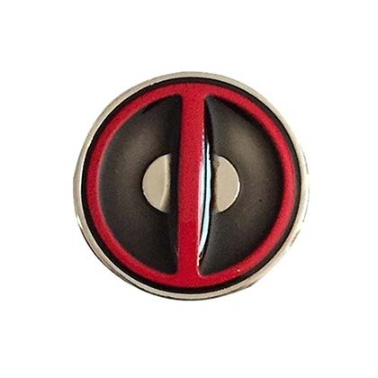 Deadpool Logo Lapel Pin