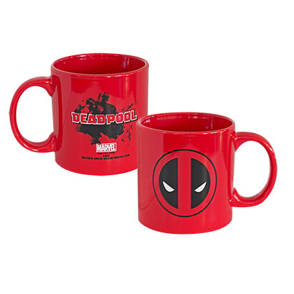 Deadpool Comic 20 OZ Red Mug