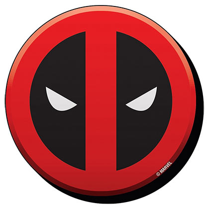 Deadpool Superhero Logo Magnet
