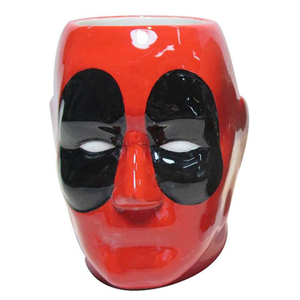 Deadpool Red Ceramic Mug