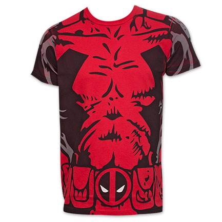 Deadpool Comic Costume Shirt