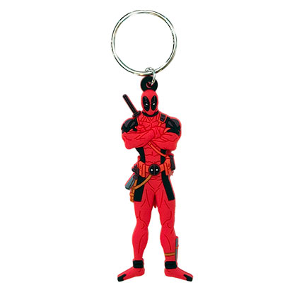 Deadpool Rubber Keychain