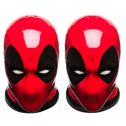 Deadpool Red Salt & Pepper Shaker Set