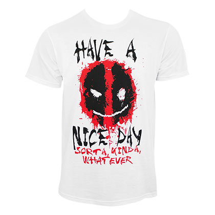 Deadpool Have A Nice Day Men's T-Shirt
