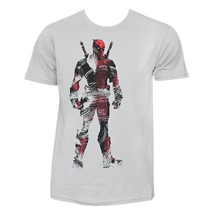 Deadpool Dead Tundra Grey Tee Shirt