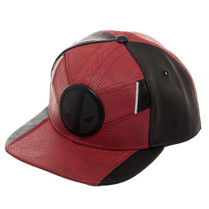 Deadpool Suit Up Metal Logo Red Men's Hat