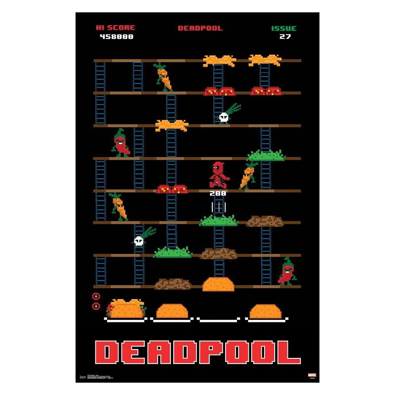 Deadpool Game 23 x 34 Inch Poster