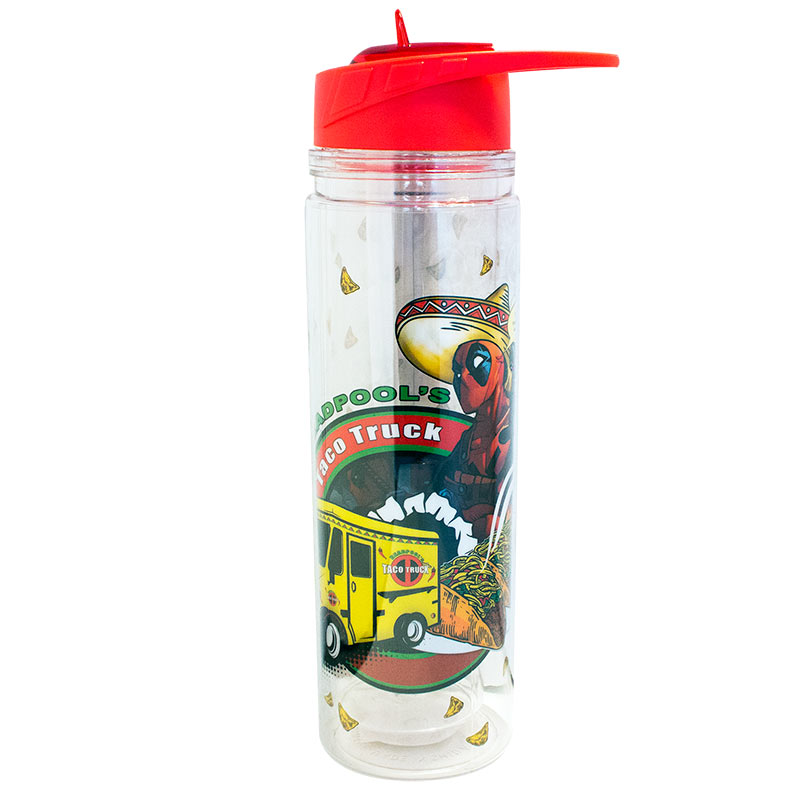 Deadpool Taco Truck 550ml Water Bottle
