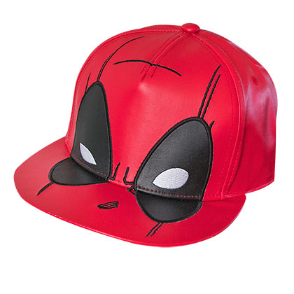 Deadpool Red Large Logo Snapback Hat