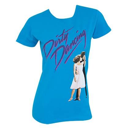 Dirty Dancing Blue Ladies Tee Shirt
