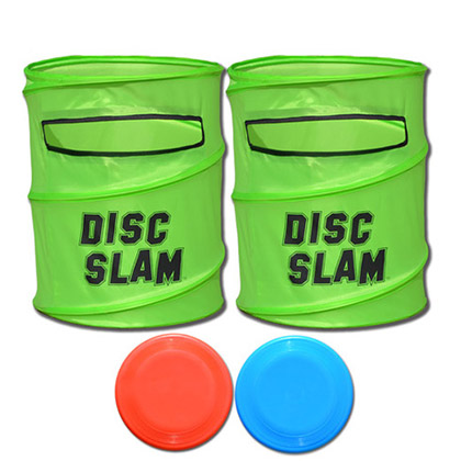 Disc Slam Toss Lawn Game