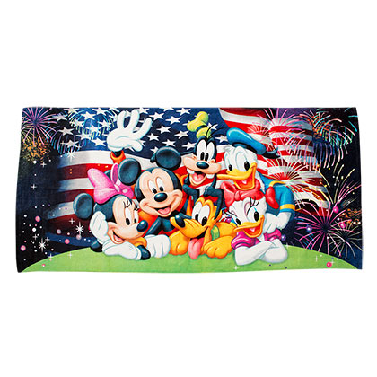 Disney Celebrate America Beach Towel