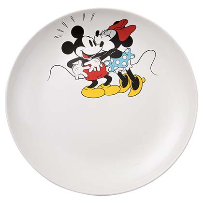 Mickey & Minnie Mouse 14 Inch Serving Platter