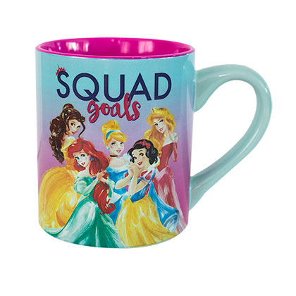 Disney Princesses Squad Goals Ceramic Coffee Mug