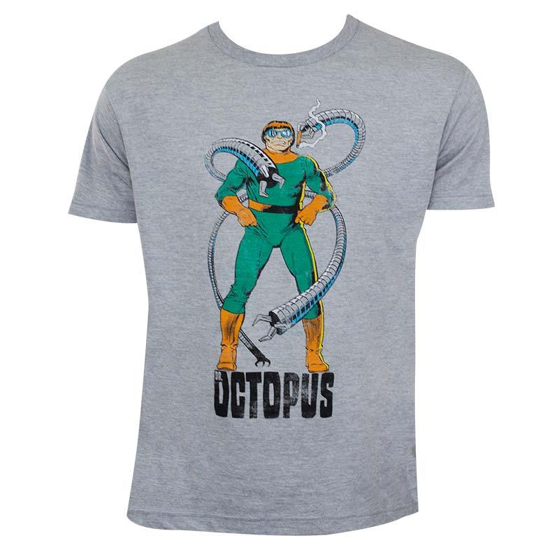 Doctor Octopus Men's Grey Tentacles T-Shirt