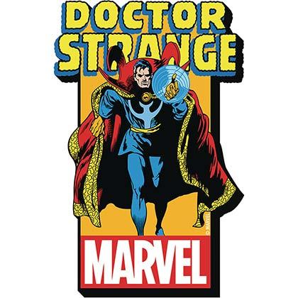 Doctor Strange Superhero Logo Magnet