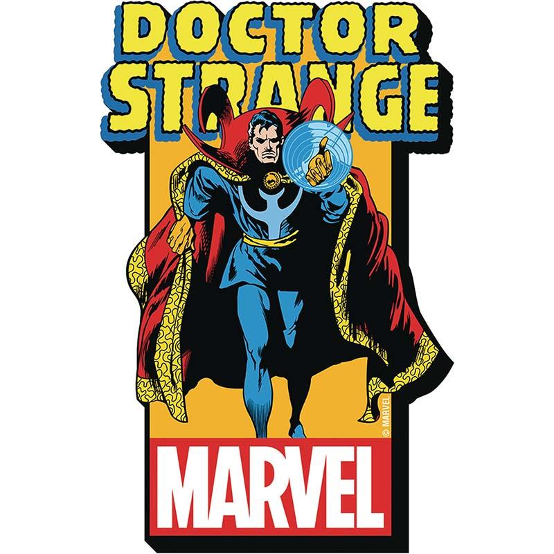 Doctor Strange Comic Logo Magnet