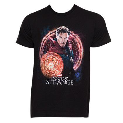 Doctor Strange Men's Black Portal T-Shirt