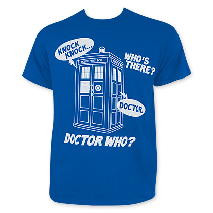 Doctor Who Knock Knock Tee Shirt