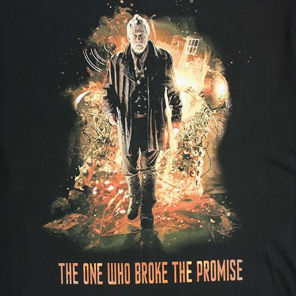 Doctor Who Black The One Who Broke The Promise T-Shirt