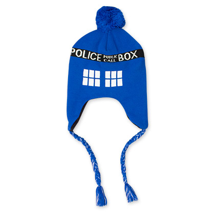 Dr. Who Blue Tardis Winter Hat