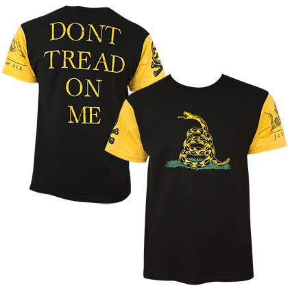 Don't Tread On Me Patriotic Men's T-Shirt