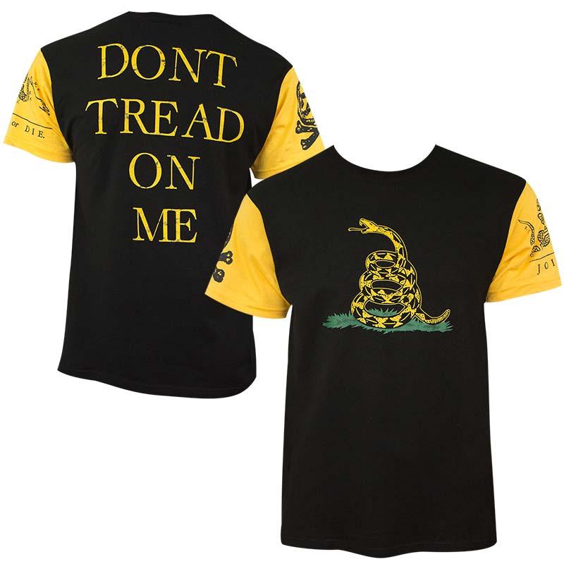 Don't Tread On Me Patriotic Men's T-Shirt