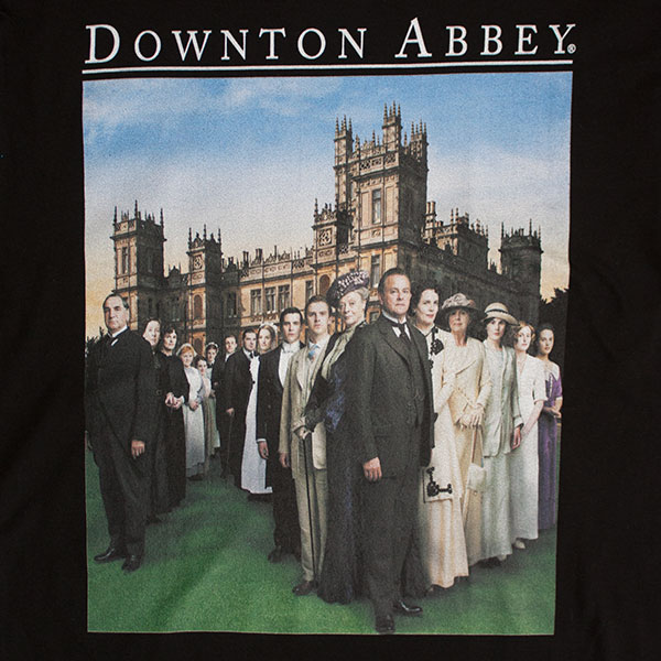 Downton Abbey Men's Logo Tee Shirt
