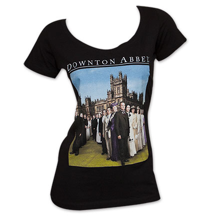 Downton Abbey Women's Logo Tee Shirt