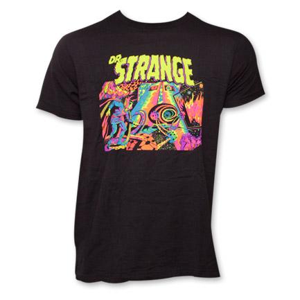 Dr. Strange Psychadelic T-Shirt - Black