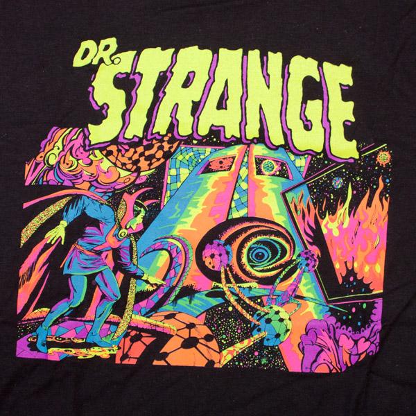 Dr. Strange Psychadelic Shirt Black