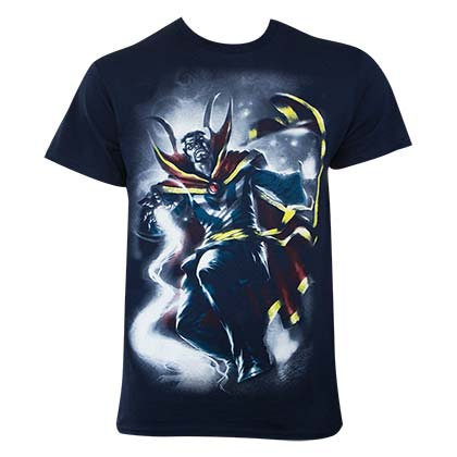 Dr. Strange Men's Navy Blue Doc Mythos T-Shirt