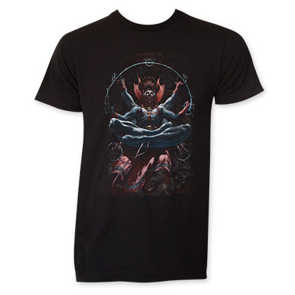 Dr. Strange Men's Black Levitation T-Shirt