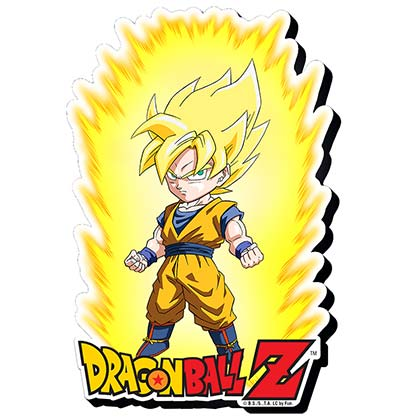 Dragonball Z Comic Super Saiyan Goku Magnet