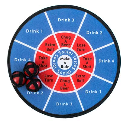 Take A Shot Drinking Darts Game