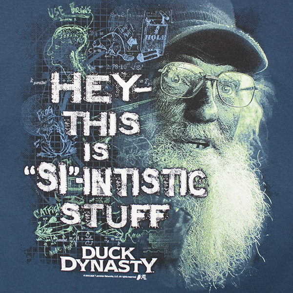 Duck Dynasty Scientific Stuff TShirt - Blue