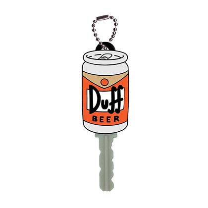 The Simpsons Duff Key Holder