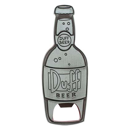 Simpsons Metal Duff Bottle Opener