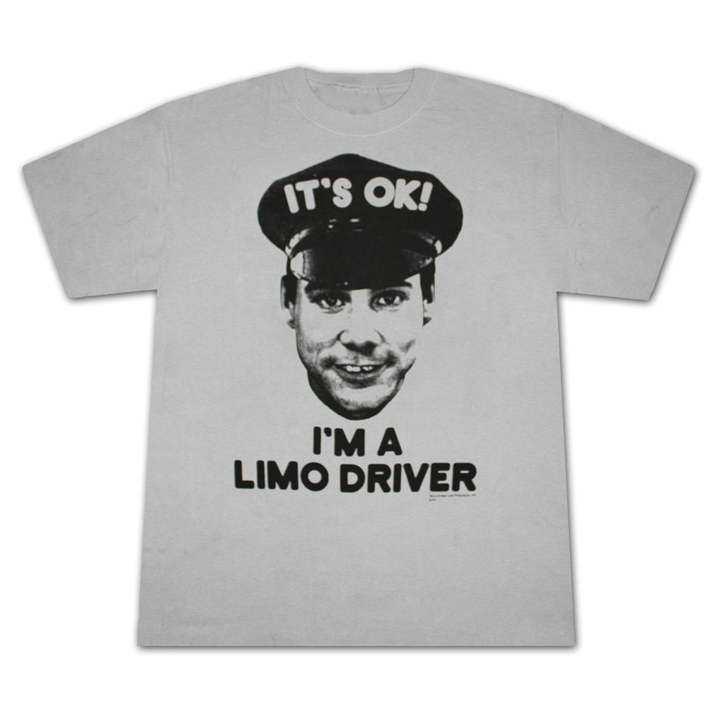 Dumb & Dumber Limo Driver Grey Graphic Tee Shirt