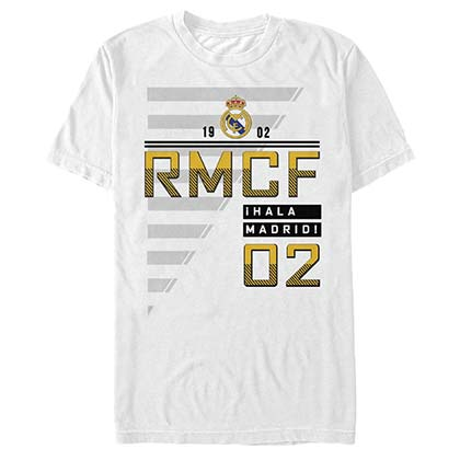 Real Madrid On Field Soccer White T-Shirt