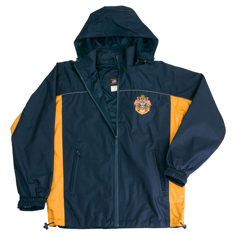 Navy Windbreaker Mens Blue Jacket