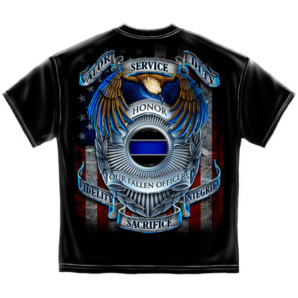 Honor Service Duty T-Shirt - Black