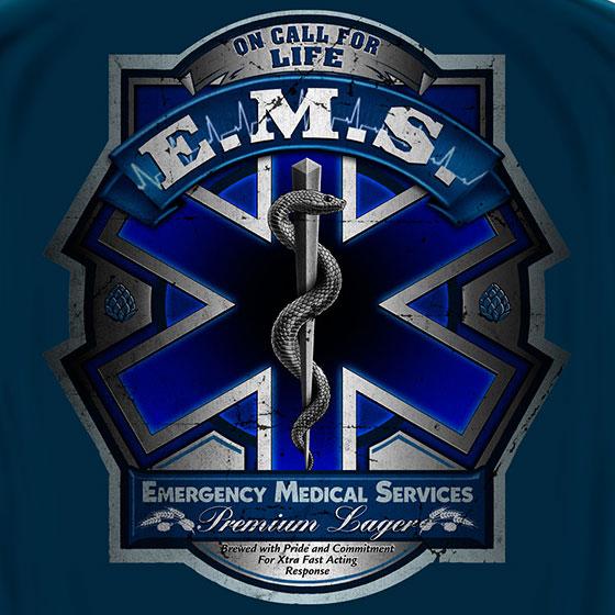 EMS Premier Lagar Tee Blue