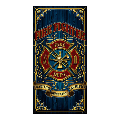 Firefighter Dedication Beach Towel