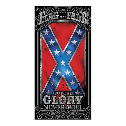Glory Never Fades Confederate Flag Beach Towel