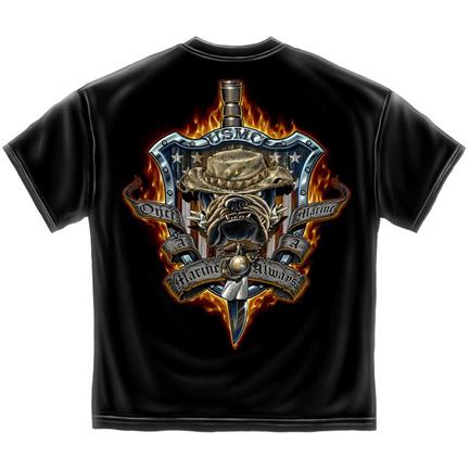 United States Marine Corps Always A Marine Tee Shirt
